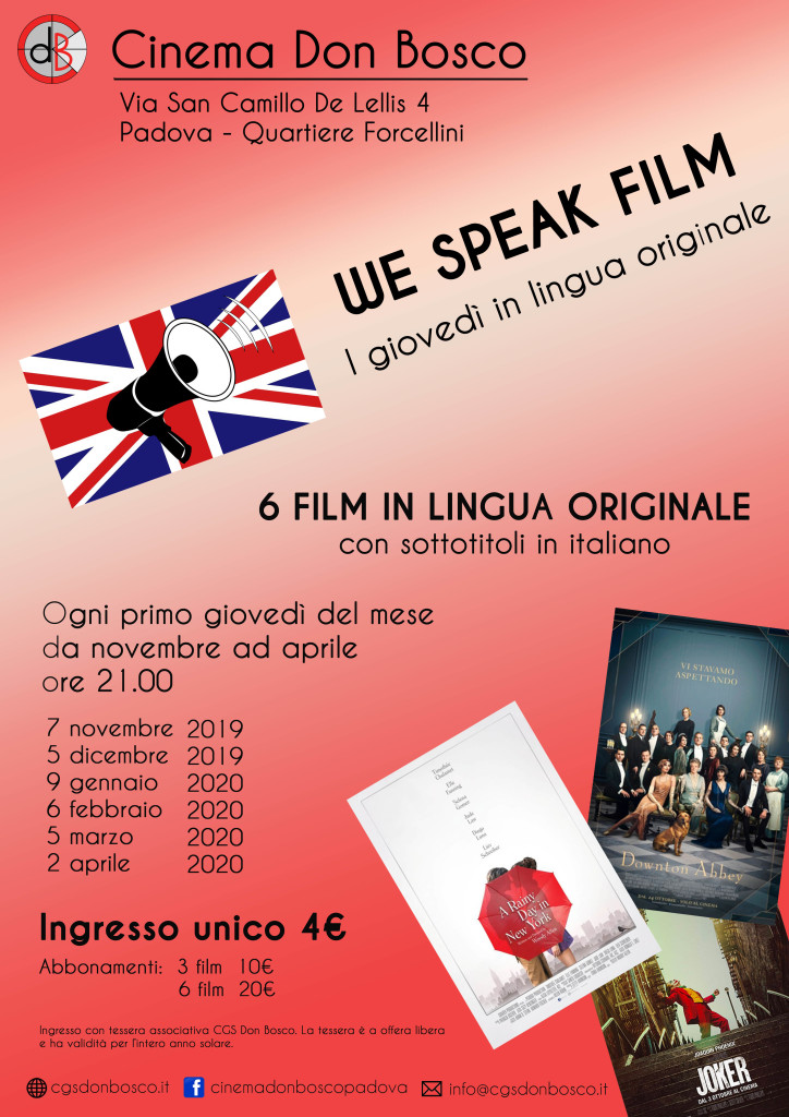 We Speak Film
